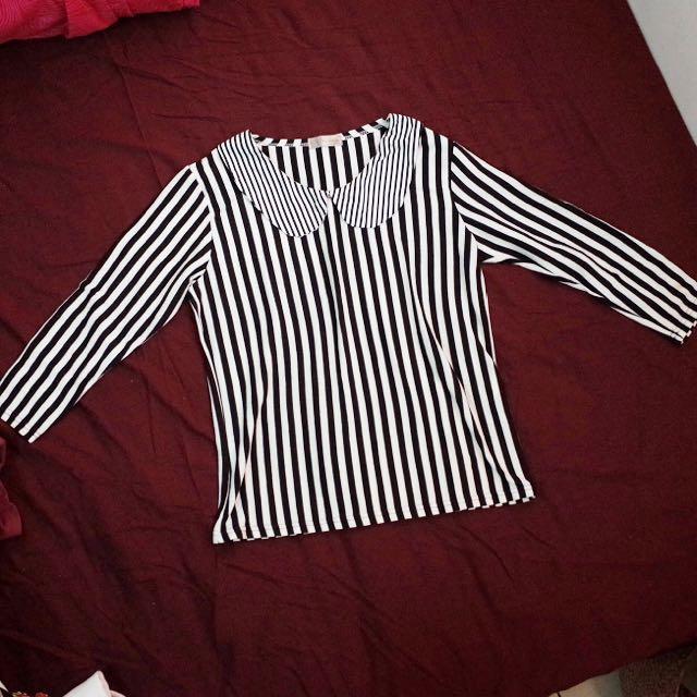 👼條紋造型上衣👼