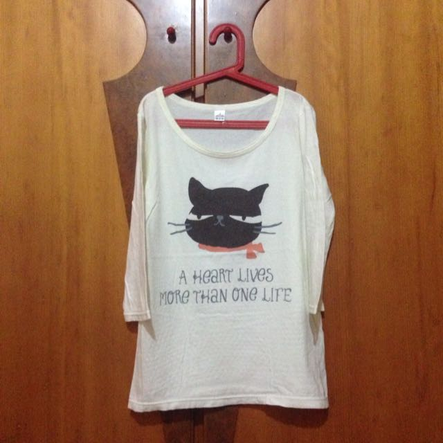 貓咪長版棉衣