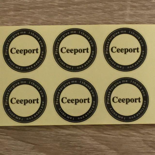 零極限 清理貼紙(一組兩張10元)