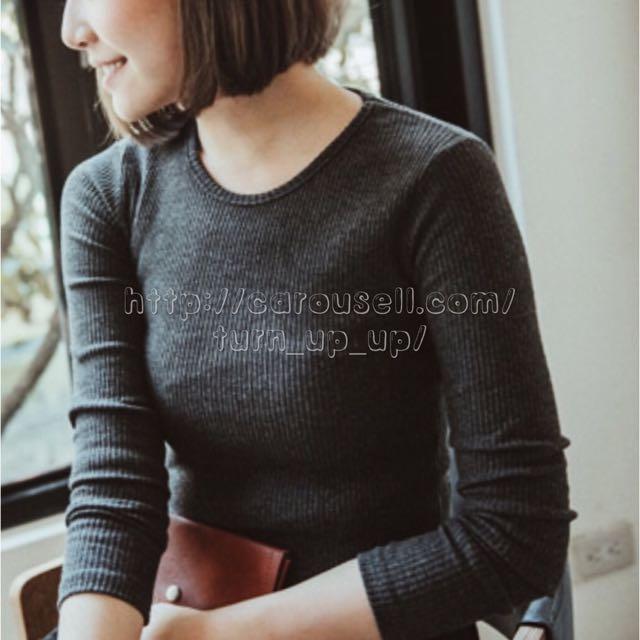 正韓 🇰🇷 針織 羅紋 上衣