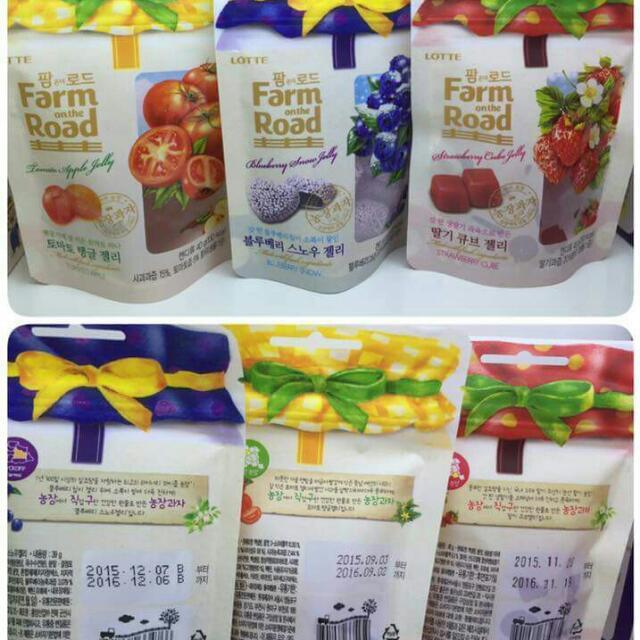 正韓 Farm Road軟糖水果軟糖