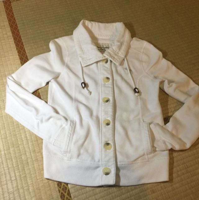AF白色外套☁️
