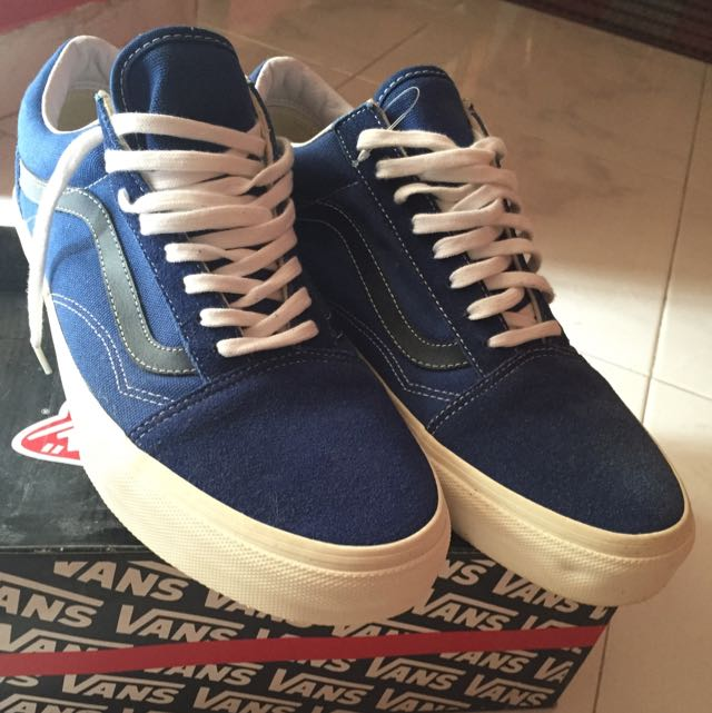 Authentic VAM Shoes old skool (vintage) true blue black iris ... 26880ab6a50b