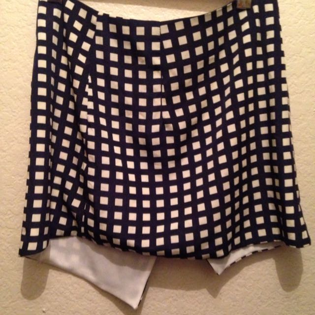 Blue/ White Skirt