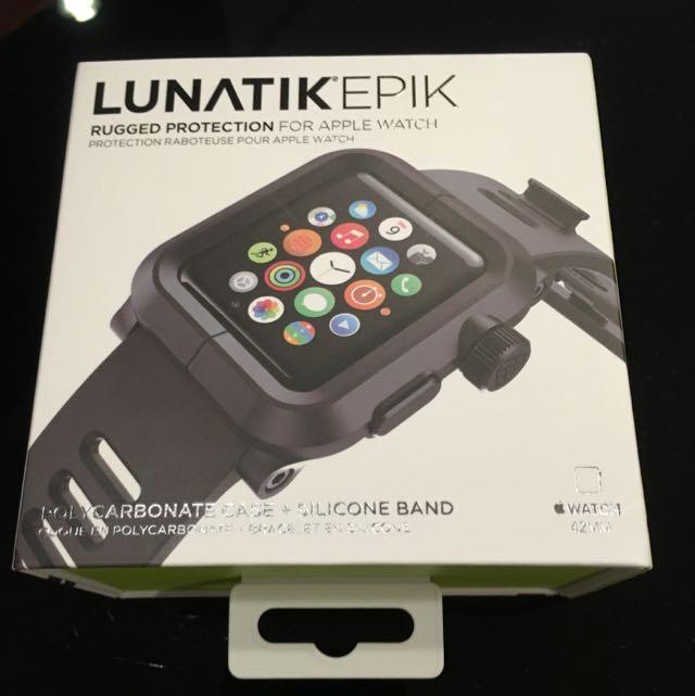 buy popular 37e4f 84531 Brand New Lunatik Epik Polycarbonate Case + Silicon Band For Apple Watch  Unopened