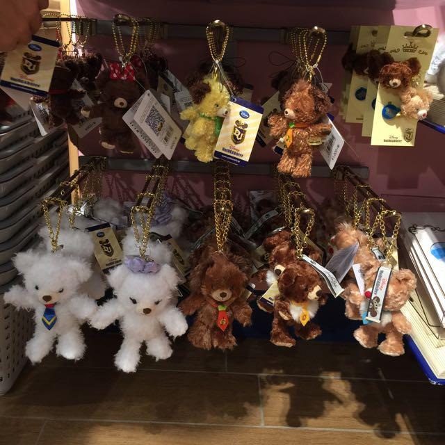 Disney 迪士尼 大學熊 奇奇蒂蒂 黛西吊飾 掛包包