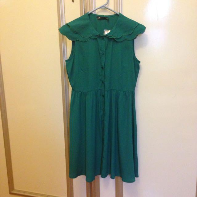 Dotti Collared Dress Size 10