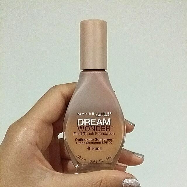 Dream Wonder Fluid-touch Foundation