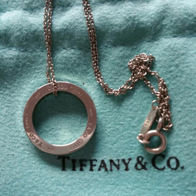 Genuine Tiffany & Co Sterling Silver Necklace