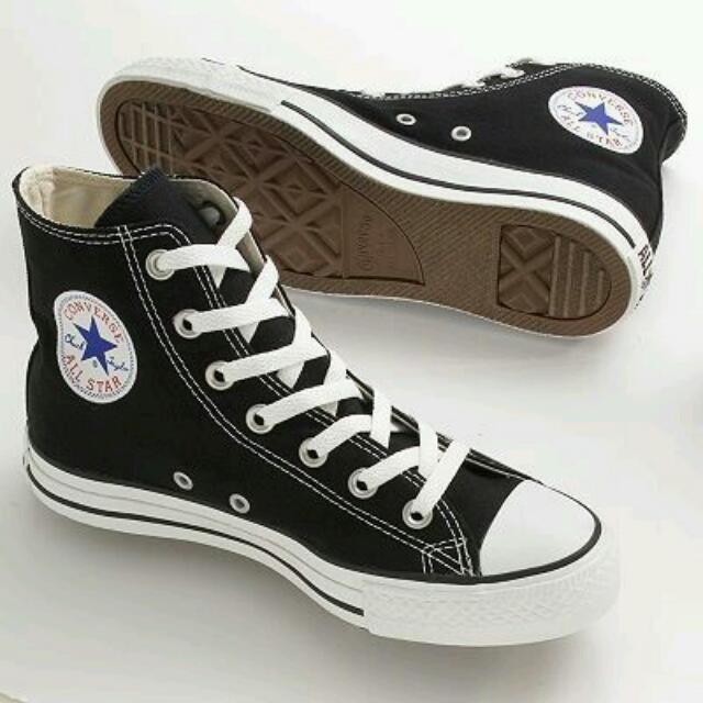 Hi Top Converse Heel