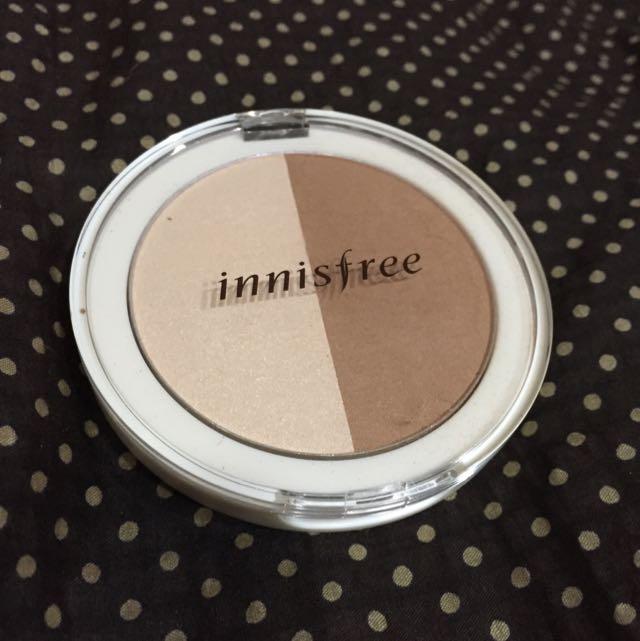 Innisfree妝自然雙色修容餅01(保留中)