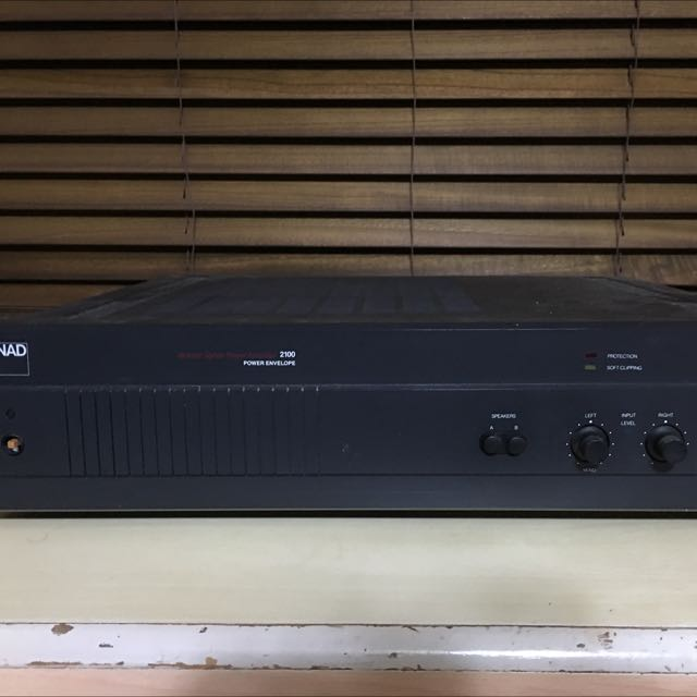 NAD 2100 Stereo Power Amplifier, Electronics on Carousell