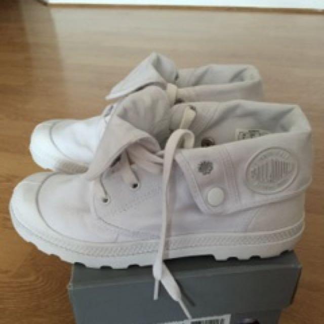 Palladium Canvas Sneakers