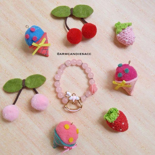 Pink Rocking Horse Bracelet