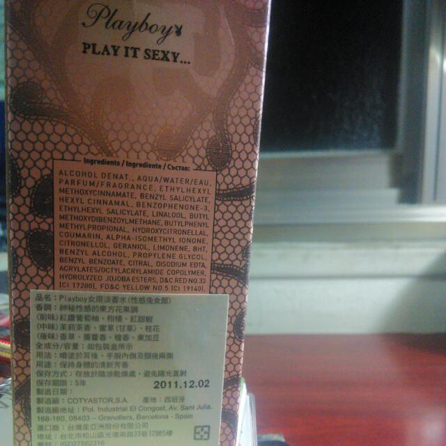 《九成新》Playboy 女用淡香水