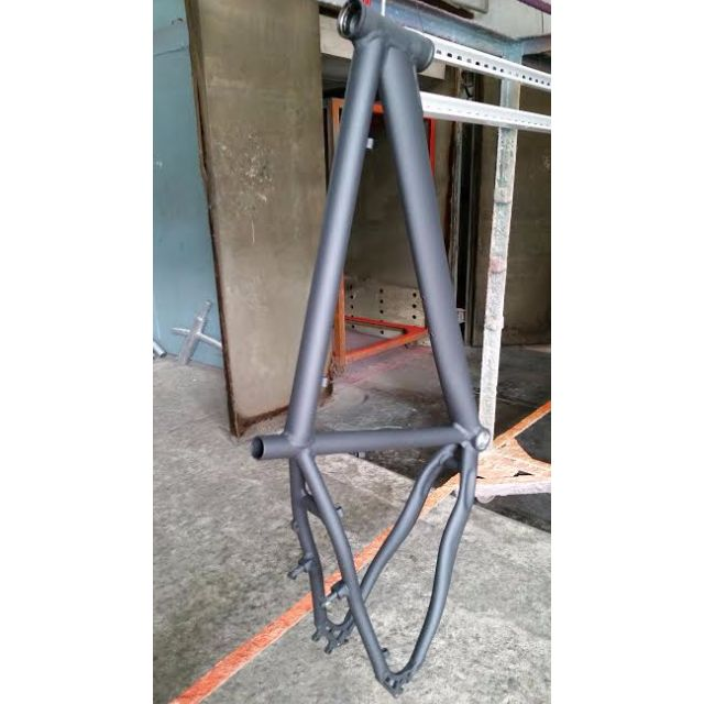 Powder coat your bicycle frame