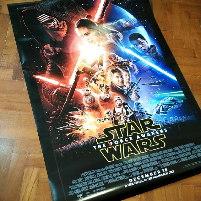 StarWars The Force Awakens Poster