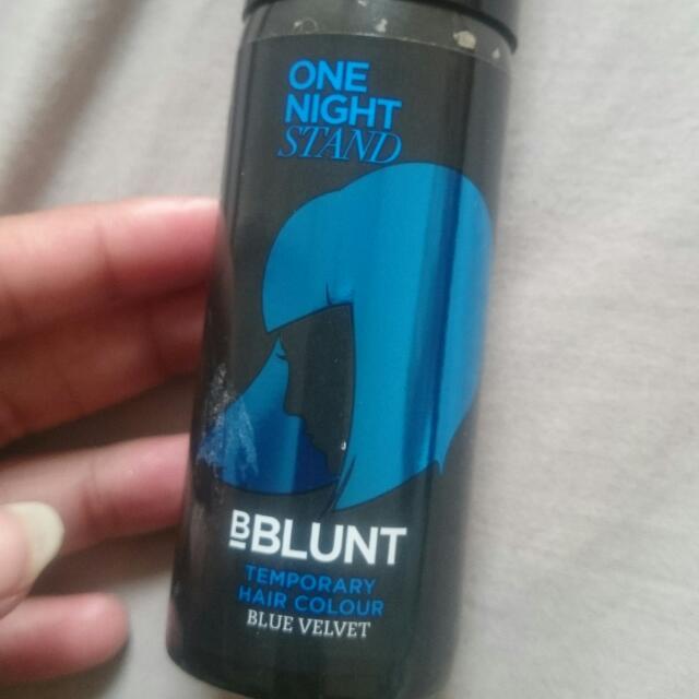 Temporary Hair Colour Spray Blue Velvet