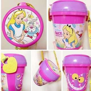 ❌❌❌降價推 愛麗絲 時間兔 絕版 爆米花桶