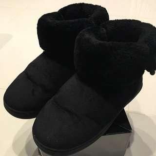 雪靴(黑色36號)