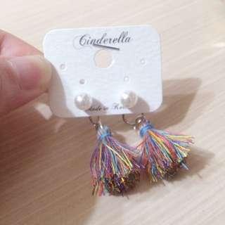 全新後扣式珍珠耳環