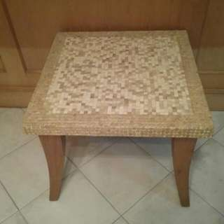 RESERVED Mosaic Square Coffee Table