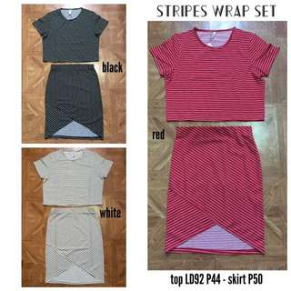 Stripes Wrap Set