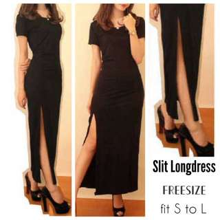 Slit Longdress