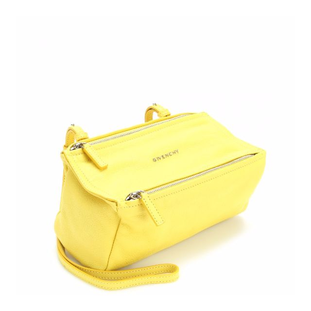 2ad66f71f7 100% AUTHENTIC GIVENCHY PANDORA MINI YELLOW BAG