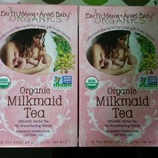 2 New Organic Milkmaid Tea