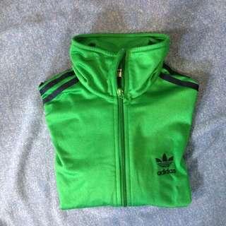 Adidas綠色外套