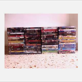 86pcs Original Brand New - DVDs
