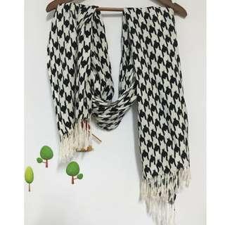 千格鳥紋圍巾