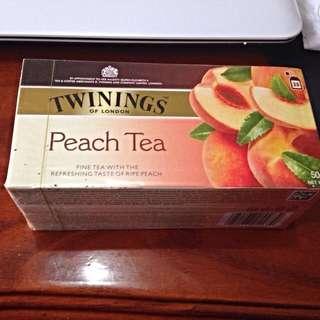 保留~唐寧 香甜蜜桃茶 Twinings Peach Tea