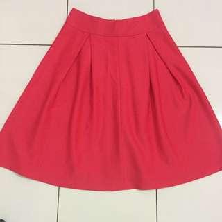 Nyla Basic Flare Skirt New