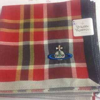 日本帶回 Vivienne Westwood 全新格子手帕
