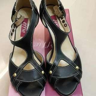 Effie真皮涼鞋