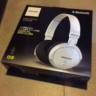 Brand New Philip SHB5500 Bluetooth Wireless Headset