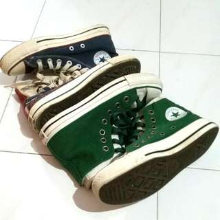 Pre-loved Converse Chuck Taylors