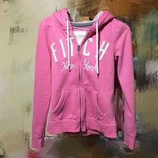 💁🏻自售👉🏻A&F薄外套 粉色