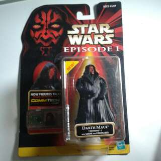 Star Wars Episode 1 Darth Maul Action Figure Sealed