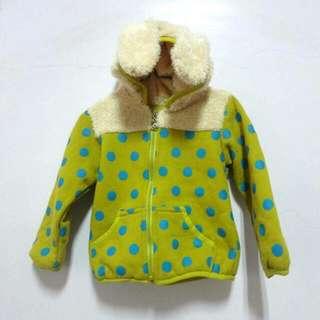 全新,毛兔兒童外套