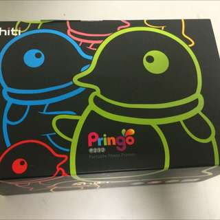 Pringo P232 隨身印相機 企鵝黑 送108張全新相紙