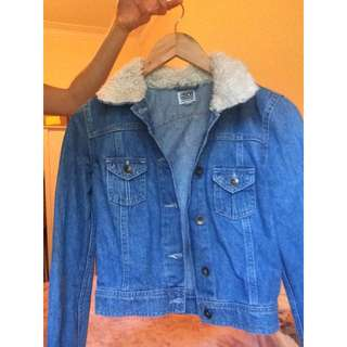 ASOS Denim Fitted/cropped Jacket