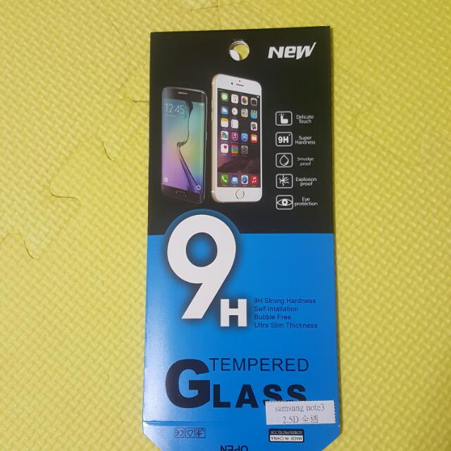 2.5D 9H全透玻璃保護貼 Note4,Note5,Zfon2,s6,A7