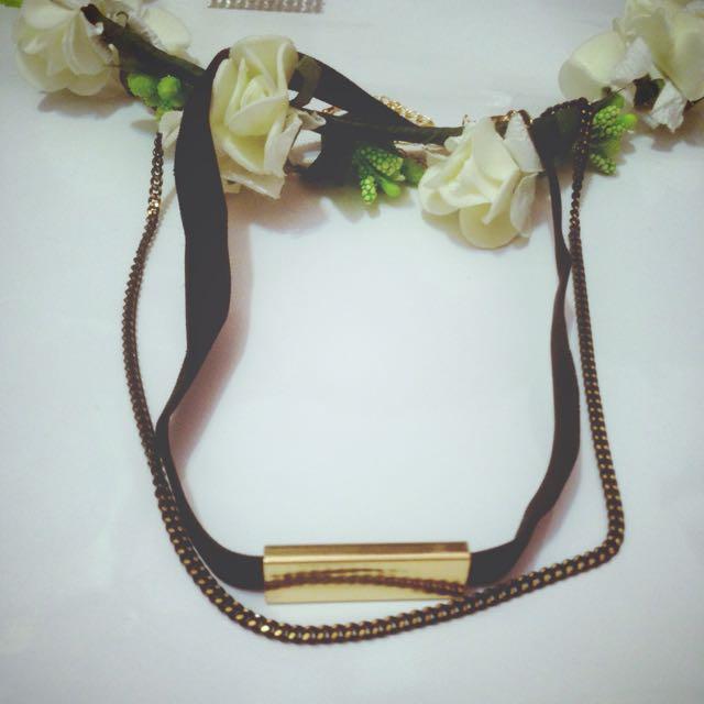 全新飾品🇰🇷兩件式頸鍊,可分開配戴