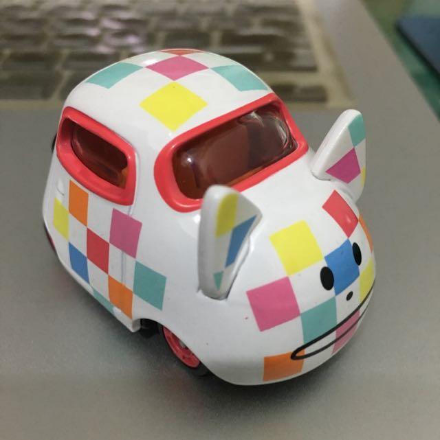 (待付款)宇宙人合金車-格子貓