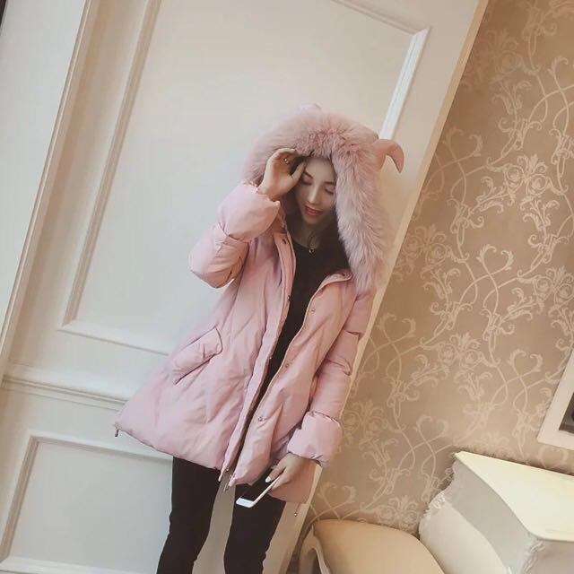 超可愛鋪棉外套