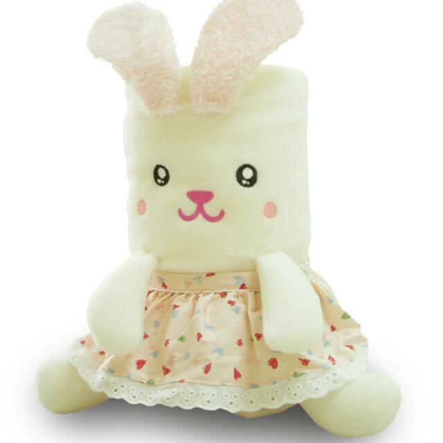 鄉村兔兔毯