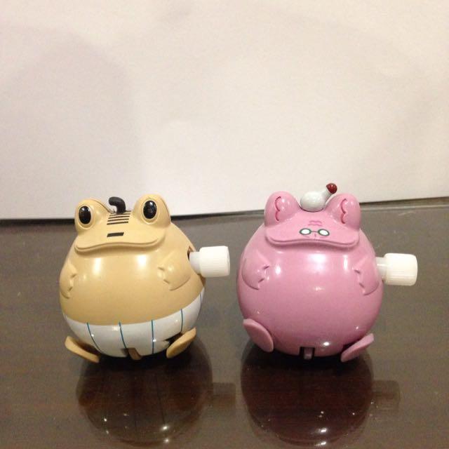 💛青蛙發條玩具